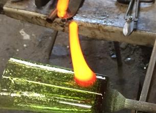 Corso di iniziazione con vetro soffiato - Vetreria di Biot