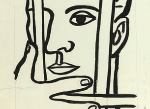 Exhibition Draw First ! Fernand Leger and the portrait