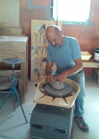 Christian et Annie Muratore Pottery - Workshop