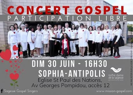 Concert Gospel  Sagesse Gospel Singers