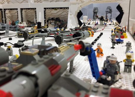 EXPOSITION 100% LEGO